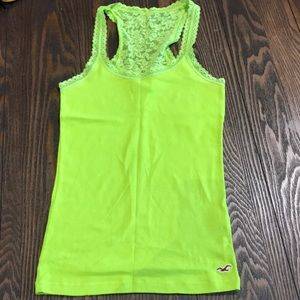 Hollister Lace Tank Top, Never worn.